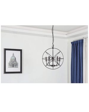 Brand new great for holidays Bronze Ceiling Chandelier 5 Lights Metal Hanging Fixture Christmas lights season for Sale in Fullerton, CA