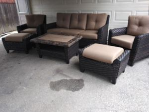 Outdoor patio conversation set deep seating for Sale in Los Angeles, CA