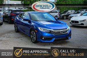 2016 Honda Civic Coupe for Sale in Miami, FL