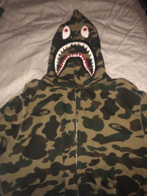 Bape first came shark full zip size XL authentic for Sale in San Mateo, CA