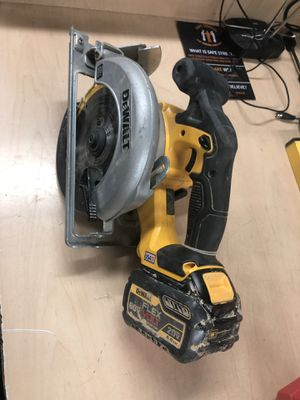 Circular Saw , Tools-Power Dewalt W/ 60V Flex Battery .. No Charger for Sale in Baltimore, MD