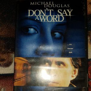 Dont Say A Word Dvd for Sale in Chicago, IL