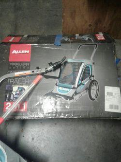 Allen bike trailer for single kid or pets $50 obo for Sale in Brentwood,  CA