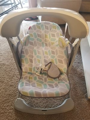 Fisher Price Deluxe Take-along Swing and Seat for Sale in Glendale, AZ