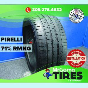 1 PIRELLI PZERO TM B1 XL 275/35/20 USED TIRE 71% RMNG NO PATCH P ZERO 2753520 for Sale in Miami, FL