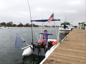 8 1/2 ft West Marine Custom Made Dinghy (Motor Not Included) for Sale in El Monte, CA
