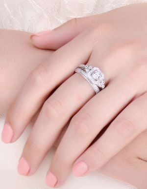Engagement Rings For Women Anniversary Promise Wedding Band Bridal Sets for Sale in El Cajon, CA