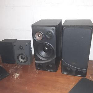 Optimus and JVC speakers two pair for Sale in Cleveland, OH