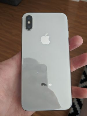 White att apple iPhone X 64GB for Sale in San Jose, CA