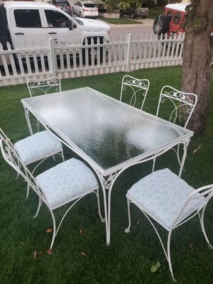 Vintage wrought iron patio set for Sale in Morrison, CO