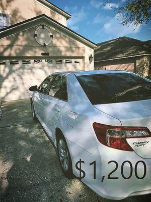 🔑🔑🔥$1200 For Sale URGENT🔥🔑🔑2013 Toyota Camry LE CLEAN TITLE🔥🔑🔑 for Sale in Santa Ana, CA