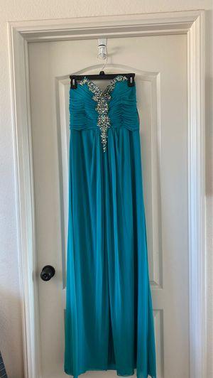 Teal Formal dress size 10 for Sale in El Cajon, CA