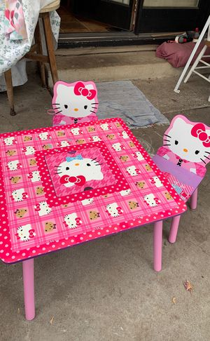 Hello kitty kids table for Sale in Portland, OR