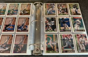 1995 Bowman Complete Baseball Card Set In Binder 1-439 Mint. Vladimir Guerrero Rookie for Sale in Brea, CA