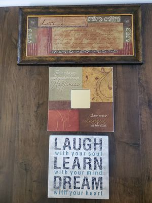 Decorative pictures for Sale in Sterling, VA