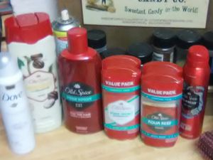 Old Spice and Dove hygiene products for Sale in Turlock, CA