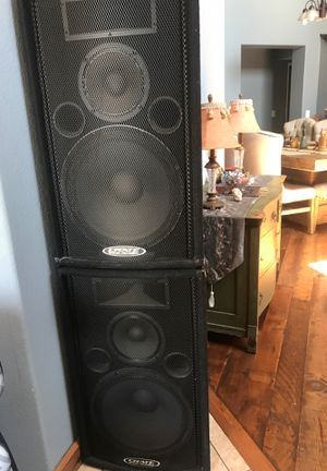 Crate pro audio speakers for Sale in San Diego, CA