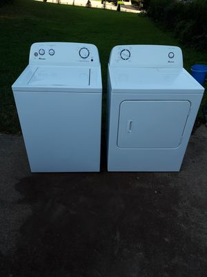 Amana High Efficiency Washer and Dryer Set Free Delivery for Sale in Decatur, GA