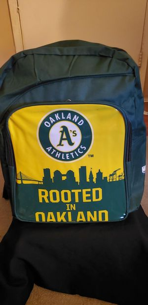 MLB OAKLAND AS BACKPACK for Sale in Los Angeles, CA