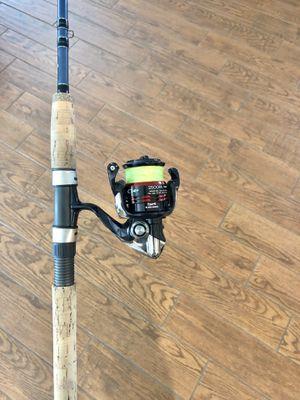 Shimano Stradic CI4+ 2500 Reel on a Fenwick Elite Tech Inshore Fishing Rod for Sale in New Port Richey, FL