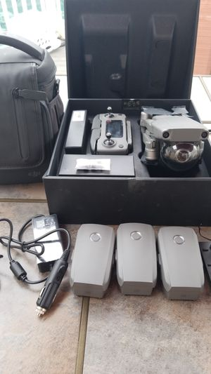 Like new mavic pro zoom fly more combo and extra battery drone must have for Sale in Medina, OH