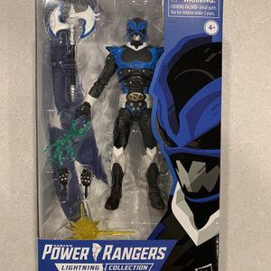 Psycho Blue Power Rangers In Space *MINT* Lightning Collection Action Figure Hasbro for Sale in Flower Mound, TX