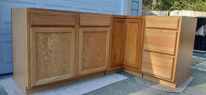 Kitchen Base Cabinets (pending pick up) for Sale in Gig Harbor, WA