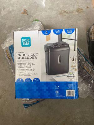 Cut-Shredder for Sale in Hope Mills, NC