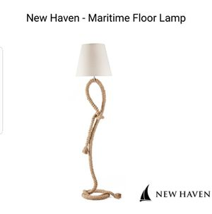 Rope floor lamp for Sale in Mesa, AZ