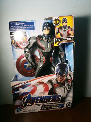 Captain America shield blast avenger figure for Sale in El Monte, CA