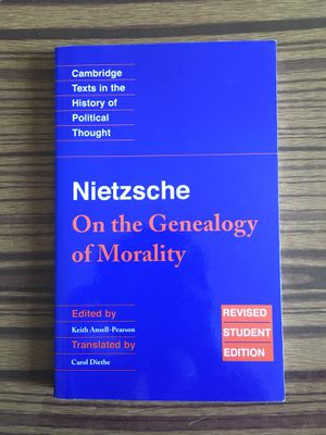 On the Genealogy of Morality by Nietzsche for Sale in New York, NY