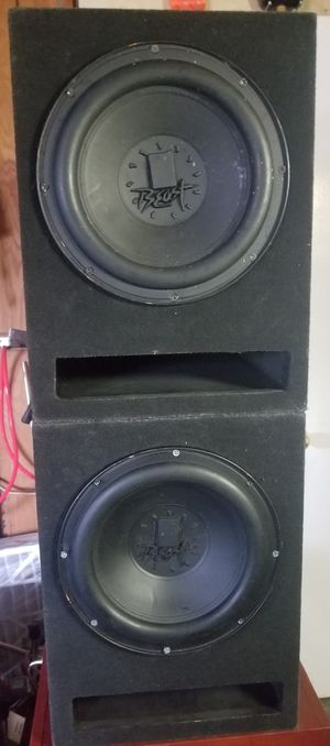 Cadence Beast 12 inch subwoofers 4 ohm for Sale in Alexandria, VA