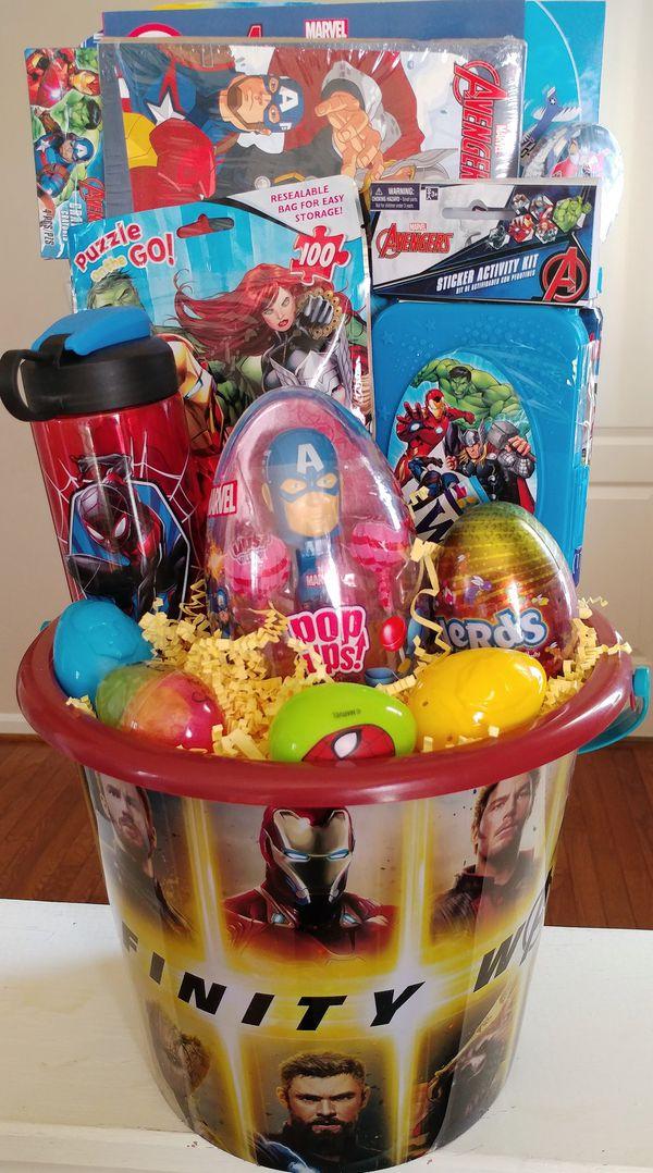 Marvels Infinity War Easter Bucket - Great activity bucket