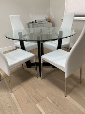 Glass Dining Table Set for Sale in San Jose, CA