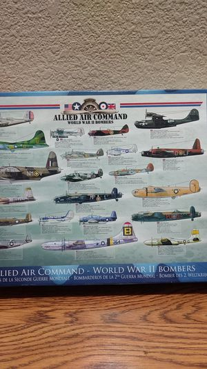 New puzzle Allied Air Command WW2 Bombers for Sale in Mesa, AZ
