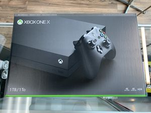 Xbox one X 1TB for Sale in Seattle, WA