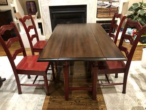 Pier One dining / console table and chairs for Sale in Washington, DC