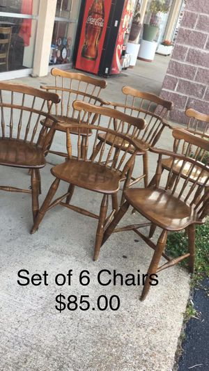 Set of 6 Chairs for Sale in Waynesville, MO