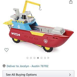 Paw Patrol Boat for Sale in Austin, TX