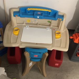 Kids Learning /Playing Desk With Chair for Sale in Silverado, CA