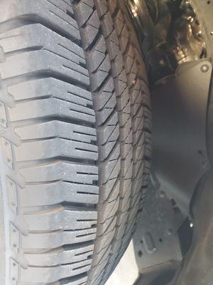 SR5 4 runner wheels and tires for Sale in Riverside, CA