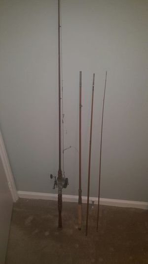 Antique fishing rods for Sale in Raleigh, NC