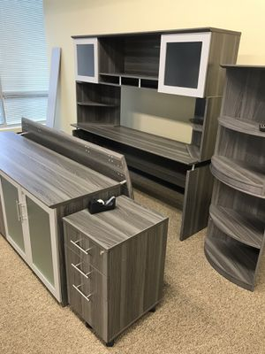 Beautiful Gray Office Funiture for Sale in Hanover, MD