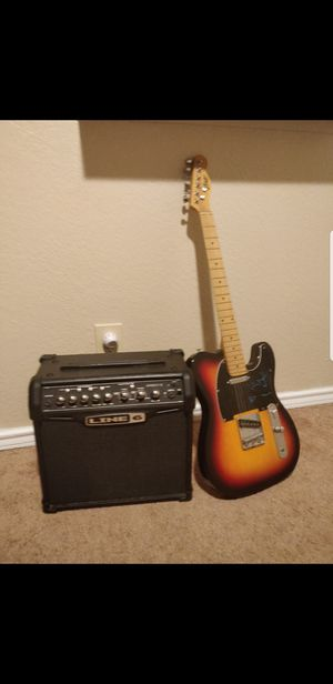Line 6 Spyder Amp & Gopley Guitar for Sale in Arlington, TX