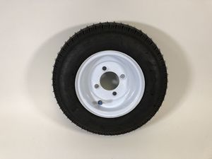 "8"" Trailer Tire and Rim - Brand New - Hot Dog Cart Parts for Sale in St. Petersburg, FL"