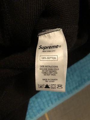 Supreme black on black box logo for Sale in Silver Spring, MD