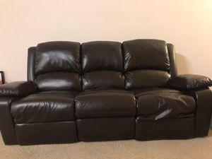 3+2 seater Sofa set - Manual recliner for Sale in Santa Clara, CA
