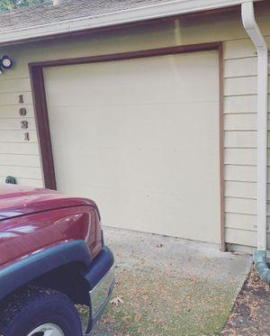 Wood garage door 8x7 for Sale in Redmond, WA