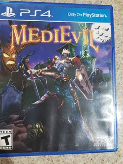 Ps4 Medievil Game for Sale in Long Beach,  CA
