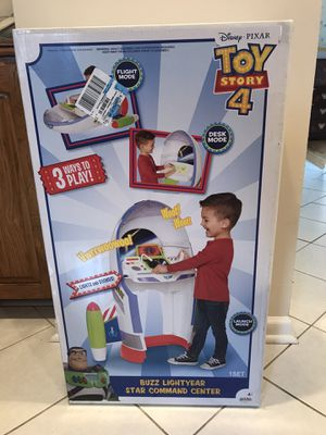 New Toy Story 4 Buzz Lightyear Star Command Center for Sale in Downers Grove, IL